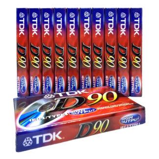 audiokazety TDK D90 akce zdarmda