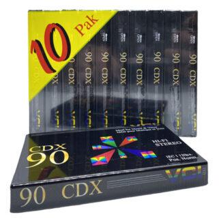 audiokazety VCI CDX akce zdarma