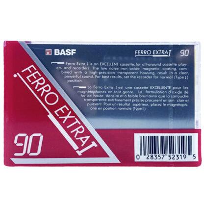 audiokazeta basf ferro extra i 1991-93