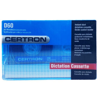 audiokazeta certron d60