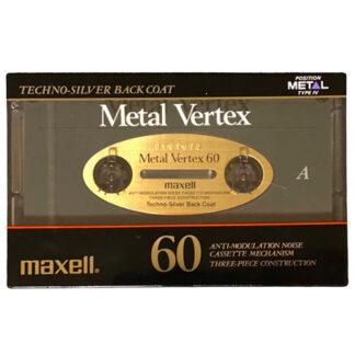 Audio kazeta Maxell Metal Vertex 60