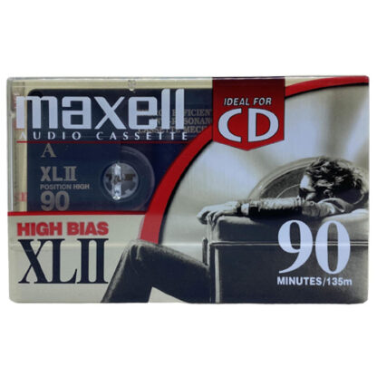 audiokazeta Maxell XL II 90 2002-05 US