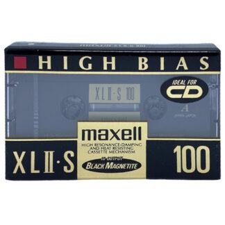audiokazeta maxell xl ii s 1991-92 japan
