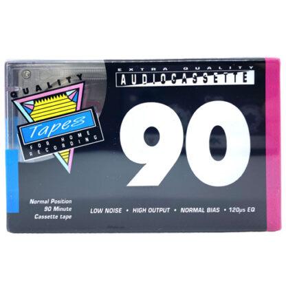 Audiokazeta MC kazeta Quality tapes 90