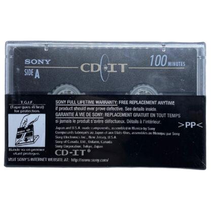 audiokazeta sony cd it 100