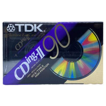 audiokazeta TDK CDing II