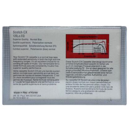 Audio kazeta Scotch CX60 1982-86