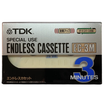tdk endless cassette 3min