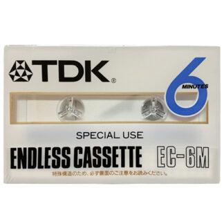 tdk endless cassette 6min