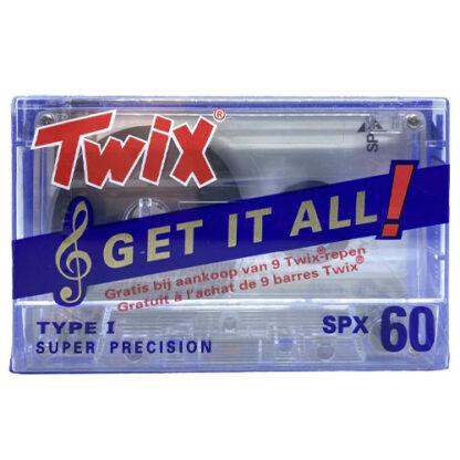 audiokazeta twix spx60