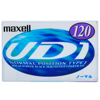 MAXELL UD1 120 1997-98 JAPAN