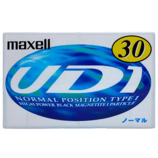 MAXELL UD1 30 1997-98 JAPAN