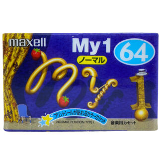 MAXELL my1 64 1999 JAPAN_