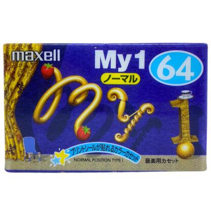 MAXELL my1 64 1999 JAPAN_