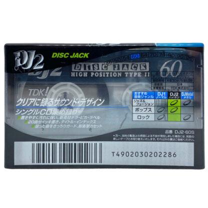 TDK DJ2 60 1997 JAPAN