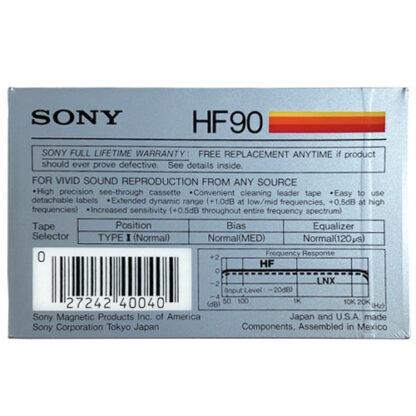 sony hf90 198