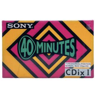 sony cdix i 40 1991JPN