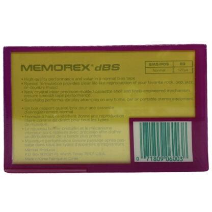 Memorex dbs 60 1987-88