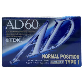 TDK AD60 1992-93 JAPAN