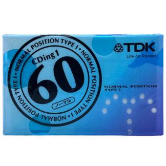TDK cding1 60 2002-2005 JAPAN