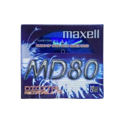 minidisc maxell md80-ble