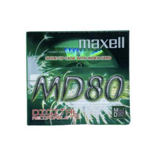 minidisc maxell md80-gne