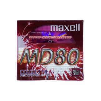 minidisc maxell md80-pke