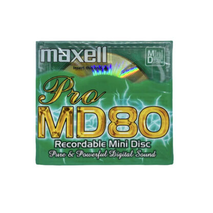 minidisc maxell pro md80