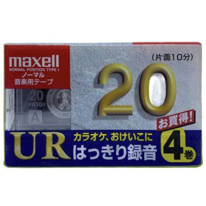maxell ur20 4pack