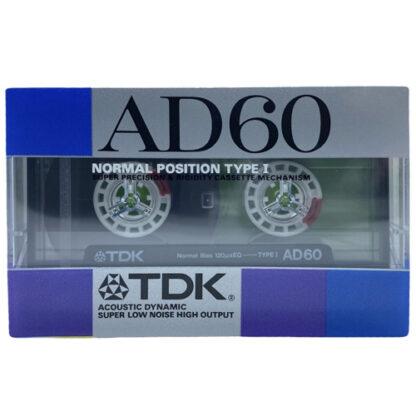 audiokazeta tdk ad60 1987-88 jpn