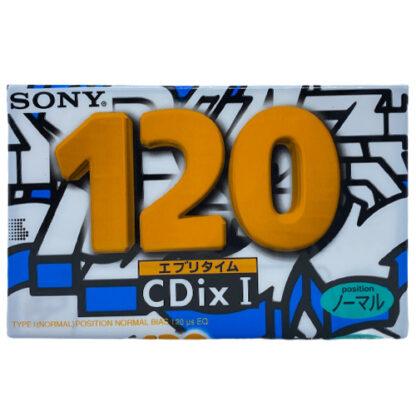 sony cdix i 120 1995 JAPAN