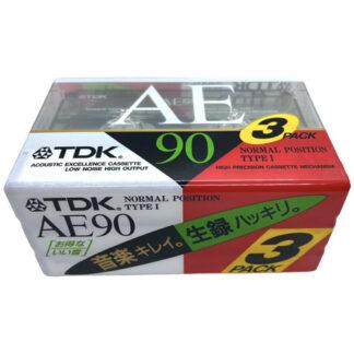 tdk ae90 3pack 1992 jpn